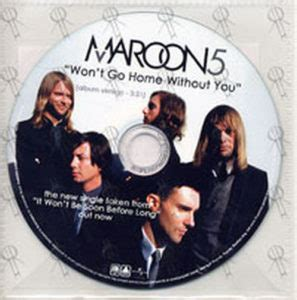 maroon 5 won t go home without you lyrics maroon 5 songs about jane album cd rare records