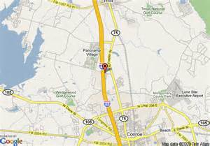 map of conroe comfort inn conroe conroe deals see hotel photos