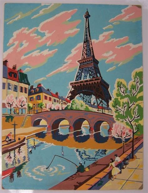 painting with numbers eiffel tower painting by numbers