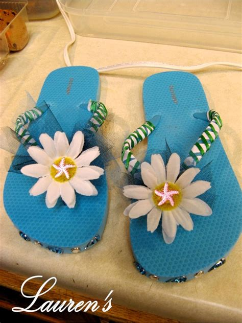 ideas for flip flop craft projects flip flop decorating simple craft ideas