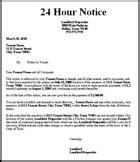 oregon strict language eviction notice kit