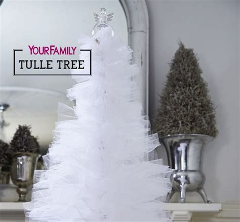 step by step photo tutorial on how to make a tulle tree