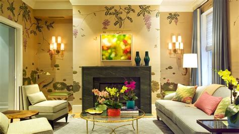 wallpaper dinding ruang tamu minimalis ungu 65 desain wallpaper dinding ruang tamu minimalis terbaru