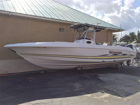used scarab boats florida 2001 used wellcraft scarab center console fishing boat for