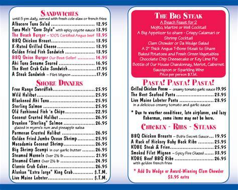 paradise cove malibu menu paradise cove cafe malibu american breakfast