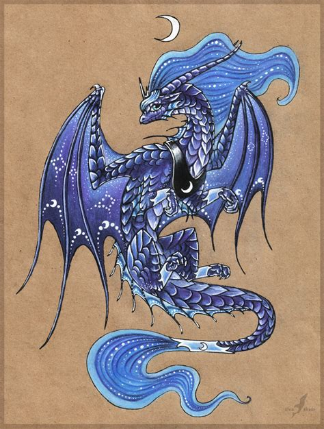 princess luna dragon by alviaalcedo on deviantart