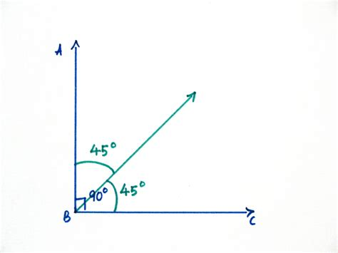 45 Degree Angle by 45 Degree Angle And Use A 45 Degree Cutting Angle