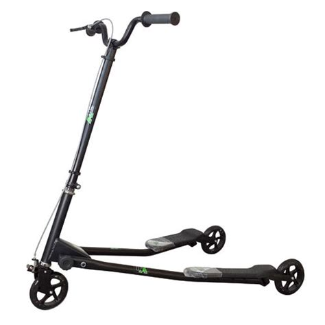 3 wheel swing scooter 3 wheel black foldable tri x big scooter swing speeder