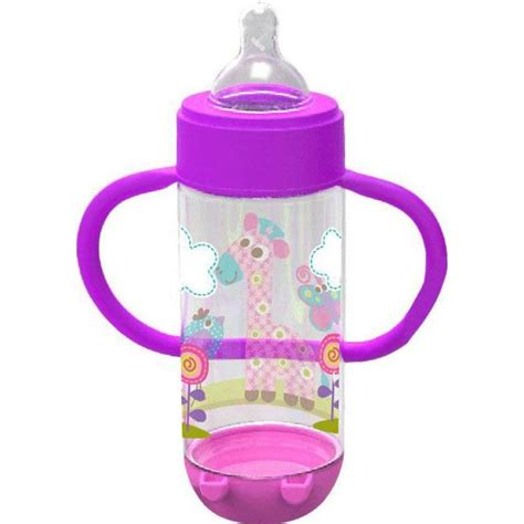 baby safe ap004 wide neck feeding bottle with handle 250ml
