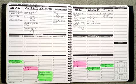 planner com here is how i keep track of to do s appts
