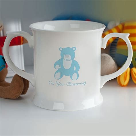 mug design for christening personalised christening mug for boys personalised by