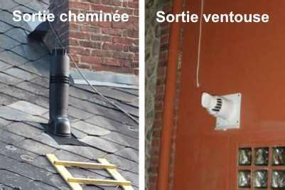 Chaudiere Gaz Evacuation Cheminee by Diff 233 Rence Entre La Chaudi 232 Re Ventouse Et La Chemin 233 E