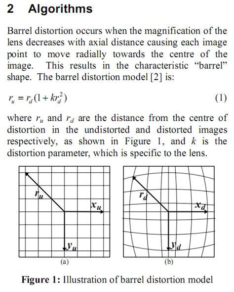 design effect formula image processing formulas for barrel pincushion