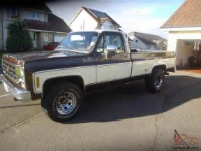 1978 chevrolet k20 4x4 truck px