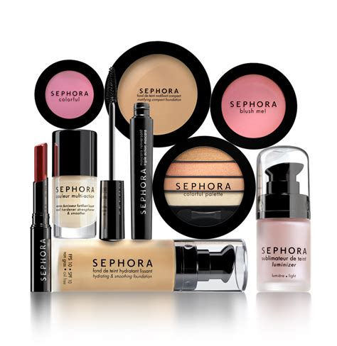 sephora all about cosmetic brands