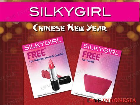 Produk Silkygirl Indonesia promo menarik new year dari silkygirl untuk