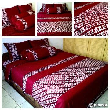 Sprei Batik Murah bantal sarung dan sprei batik