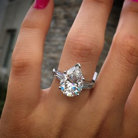 wedding bands for pear cut engagement rings gem hunt