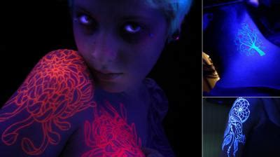 glow in the dark tattoo australia glow in the dark tattoo becomes new trend