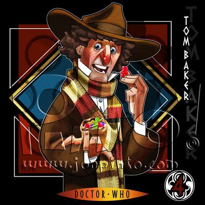 level 2 doctor who fourth the fourth doctor by jonpinto on deviantart