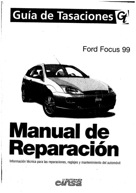 manual taller ford focus mk