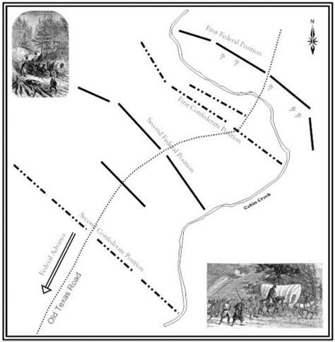 Battle Of Cabin Creek by Oklahoma Civil War The Battle Of Cabin Creek