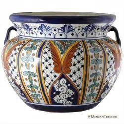 mexican tile mexican talavera large planter 24