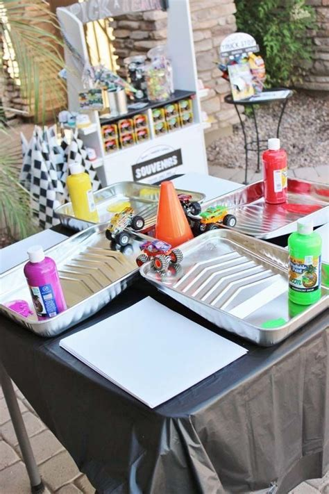 monster jam truck party supplies 9 best monster jam party ideas images on pinterest