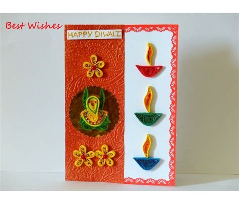 Handmade Crafts For Diwali - happy diwali greeting card pictures best collection of 2017