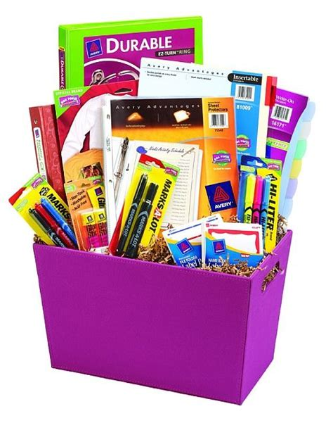 Office Supplies Gift Basket 46 Best Images About Gifts Classroom Ideas On