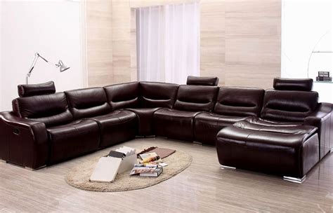 U Shaped With Recliner by U Shaped Sectional Sofa With Recliners Loccie Better