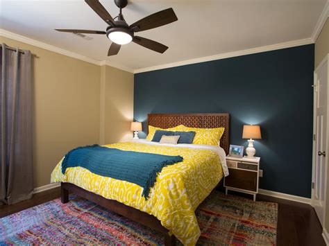 teal and yellow bedroom photos hgtv