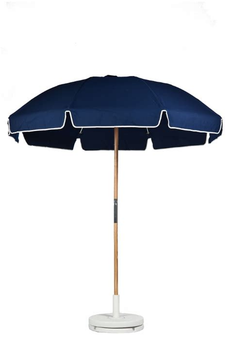 Commercial Chairs And Umbrellas by Navy Blue 7 1 2 Commercial Umbrella With Wood