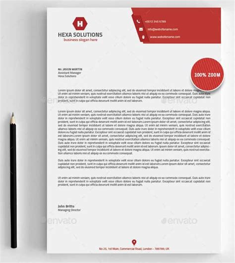 31 Word Letterhead Templates Free Sles Exles Format Download Free Premium Templates Business Letterhead Template Word