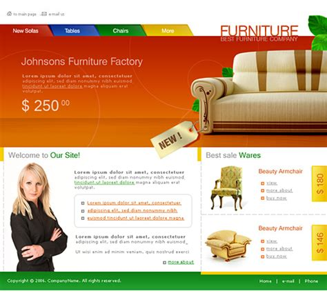 The Ghost Furniture Website A Sneak Peek by 0740 Interior Furniture Website Templates