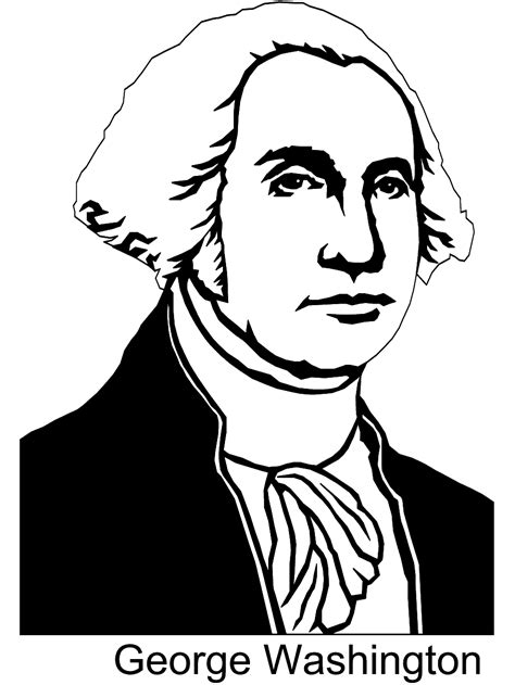 george washington coloring pages best coloring pages for president george washington coloring pages download and