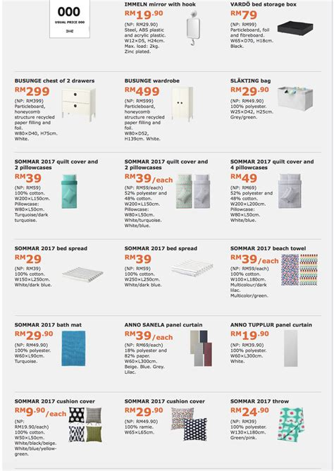Ikea Malaysia Catalog | ikea family member special offers catalogue discount