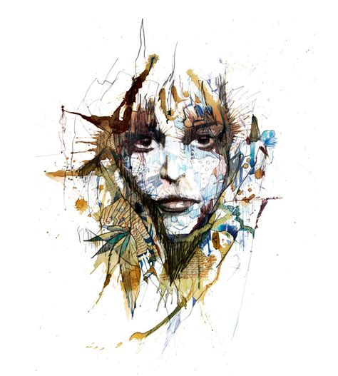 4 Drawing Media by Carne Griffiths