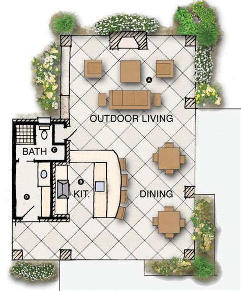 outdoor living plans house review outdoor living spaces professional builder