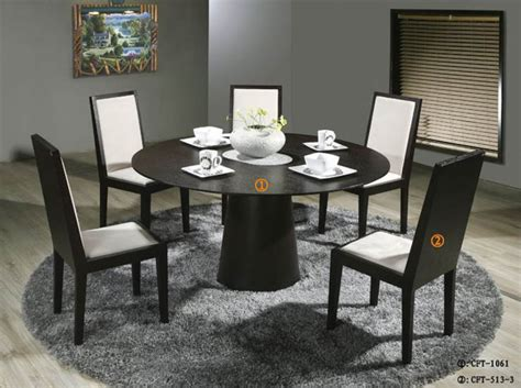Circular Dining Table For 6 Dining Table Set For 6