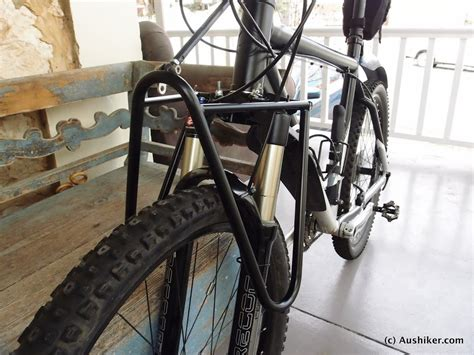 touring brands for front pannier rack on suspension