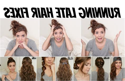 hairstyles for straight hair no heat quick and easy hairstyles for school no heat hairstyles