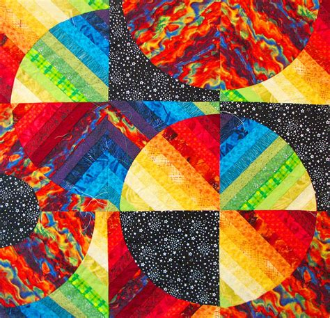The Quilt Show Puzzles by Quot Galaxies Within Quot Quilt Jigsaw Puzzle In Puzzle Of The Day