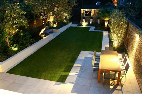 modern backyard modern backyard landscape house design with green grass in