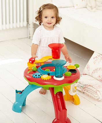 Elc Building Activity Table shape sorter baby shape sorting stacking toys elc