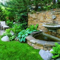 Backyard Water Features Ideas Splashy Wall
