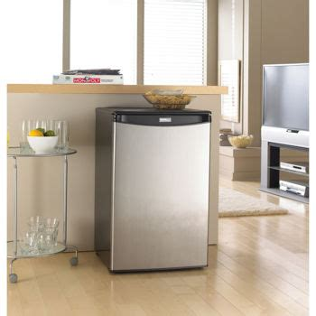 Small Home Freezers Costco Danby 174 4 4 Cu Ft Stainless Steel Compact Refrigerator