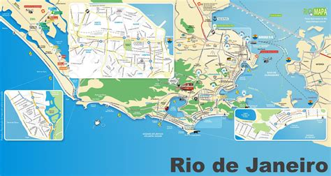 de janeiro map de janeiro tourist map