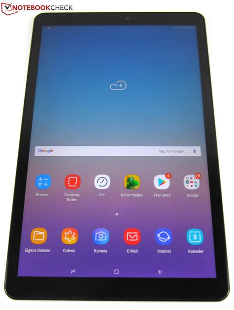 samsung galaxy tab a 10 5 sm t590n tablet review notebookcheck net reviews