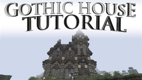 Free House Blueprints And Plans Gothic House Tutorial Youtube